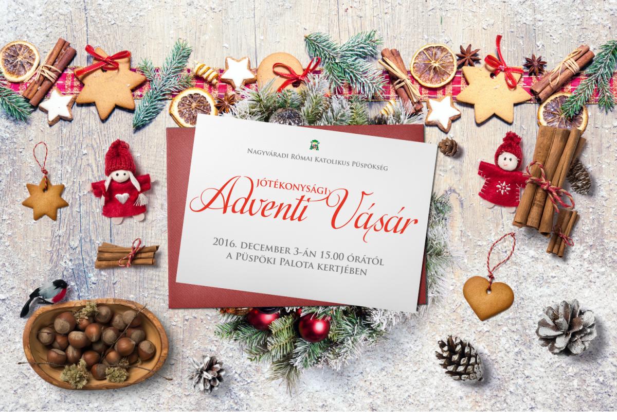 8ad7fde8f628 Ezt az irgalmasságot gyakorolva szervezi meg a Nagyváradi Római Katolikus  Püspökség idén is a Jótékonysági Adventi Vásárt 2016. december 3-án, ...