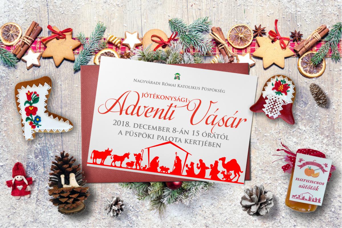 f601192509e8 ... meg kapuit családok, gyermekek, szülők, nagyszülők számára a  Jótékonysági Adventi Vásár változatos kínálattal, házi készítésű karácsonyi  süteményekkel, ...